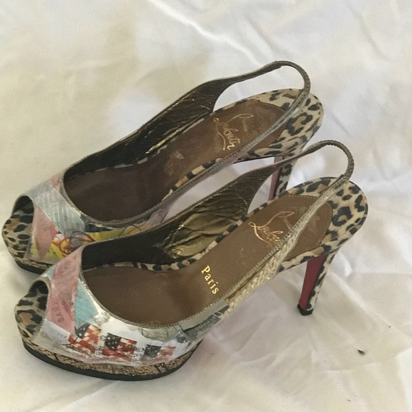 79a8df97d5f5 Christian Louboutin Shoes - Christian Louboutin Limited Edition shoe size 6